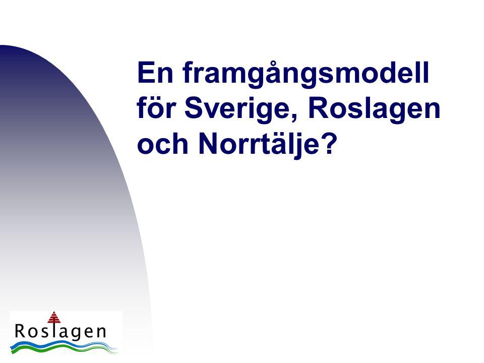 En framgångsmodell för Sverige, Roslagen och Norrtälje?
