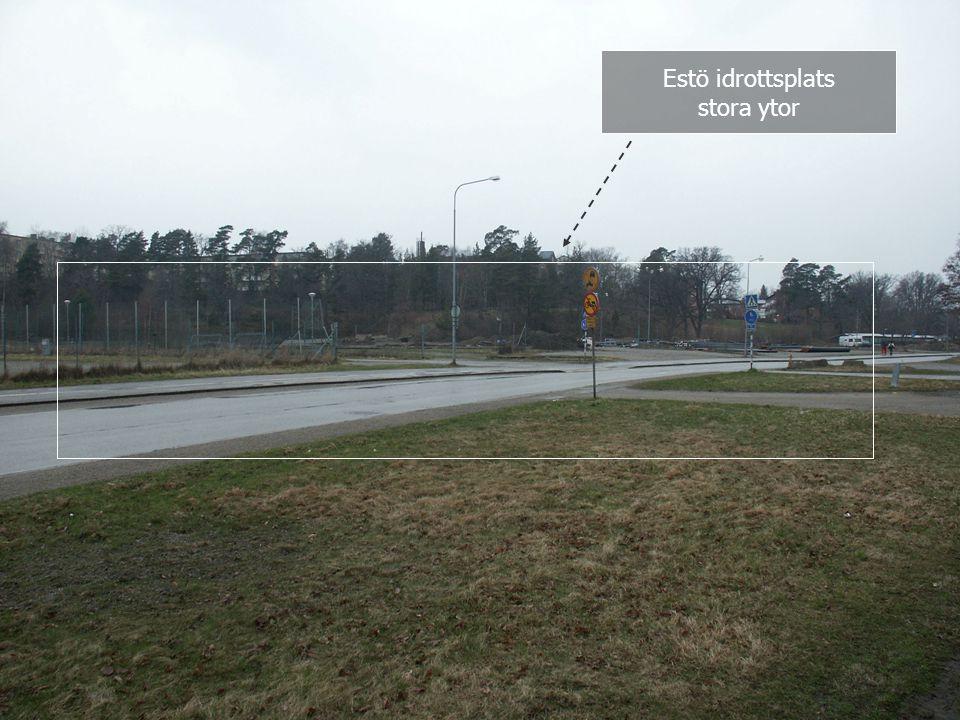 Simhall 2 Estö idrottsplats stora ytor