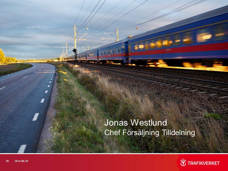 262014-06-29 Jonas Westlund Chef Försäljning Tilldelning