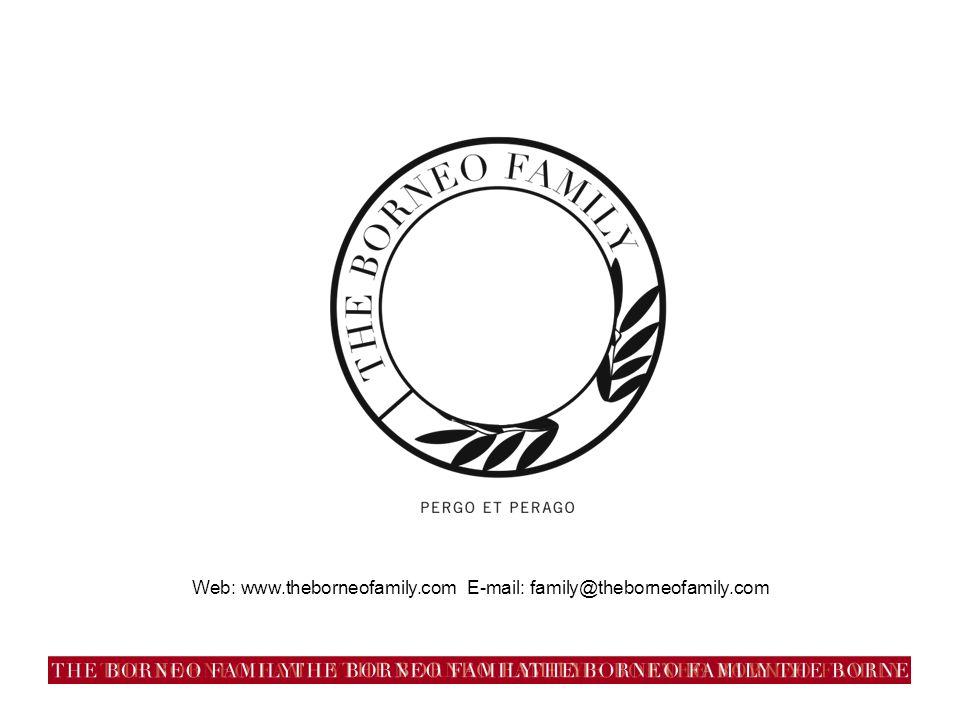 Web: www.theborneofamily.com E-mail: family@theborneofamily.com