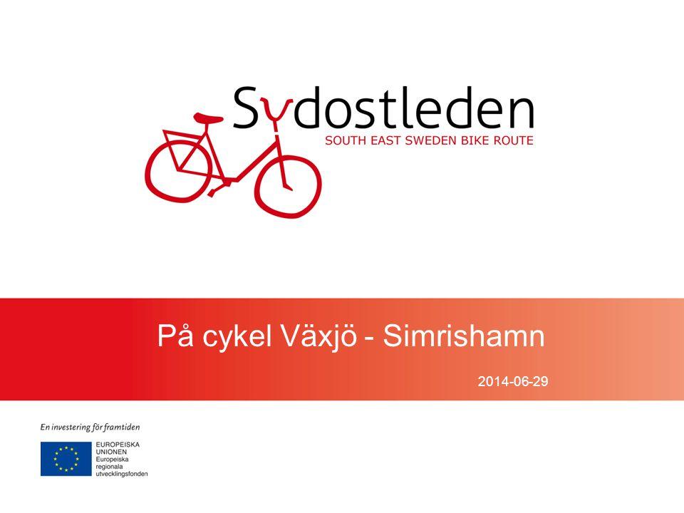 2014-06-29 På cykel Växjö - Simrishamn