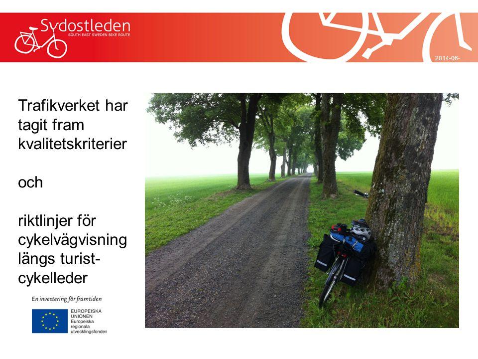 Vad är det nya med de cykelleder som nu skapas för en internationell marknad.