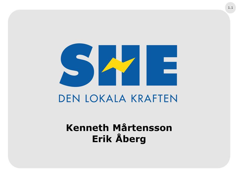 1.1 Kenneth Mårtensson Erik Åberg STARTSIDA