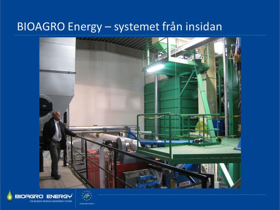 BIOAGRO Energy – systemet från insidan