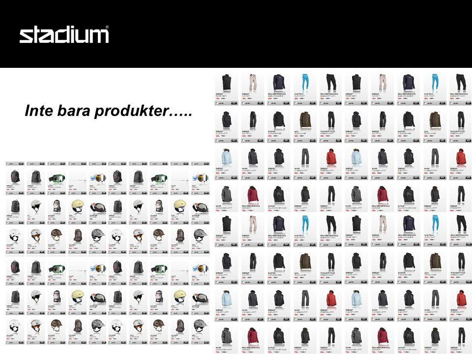 Inte bara produkter…..