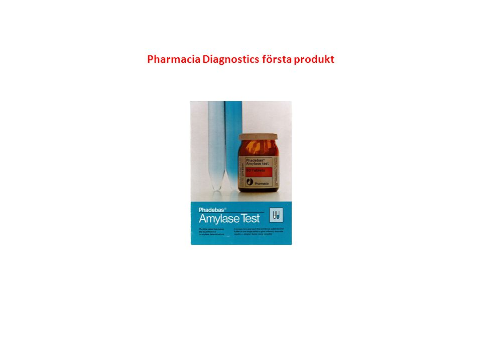 Pharmacia Diagnostics första instrument
