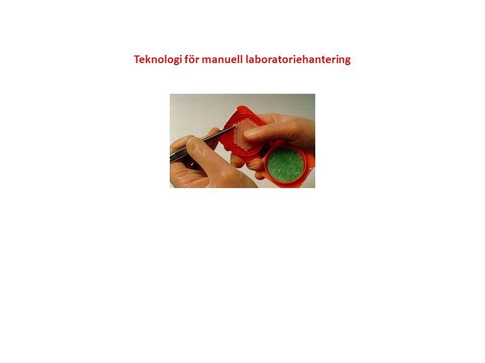 Teknologi för manuell laboratoriehantering