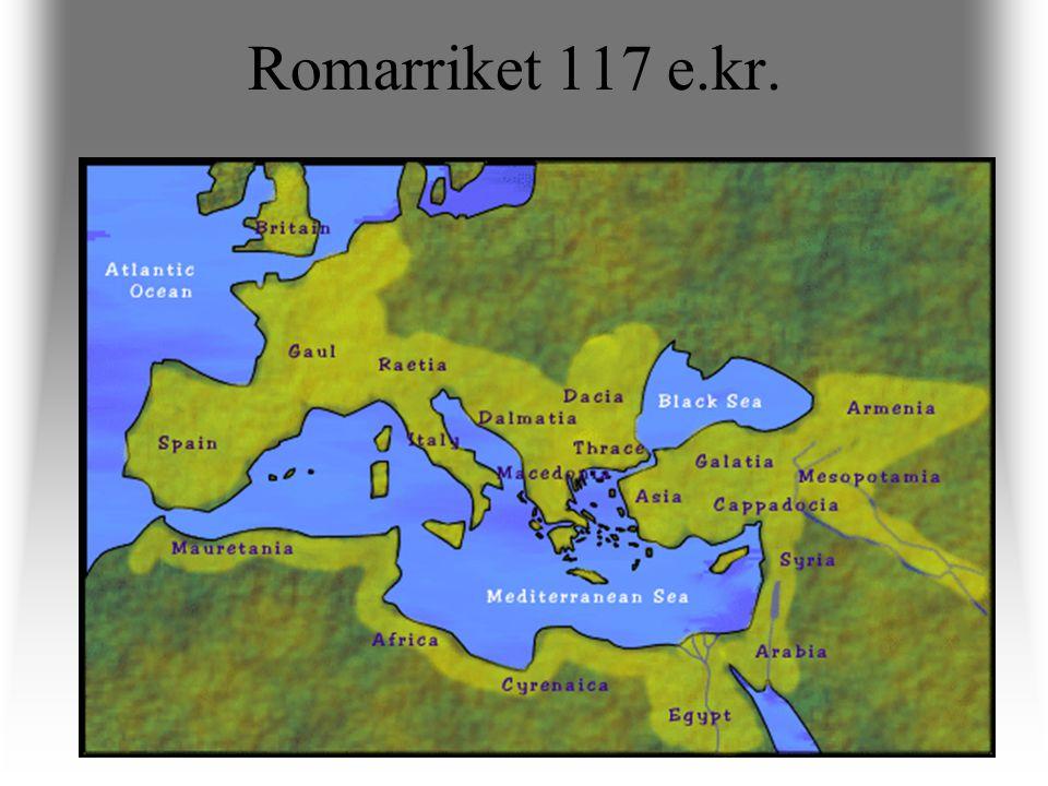 Romarriket 117 e.kr.