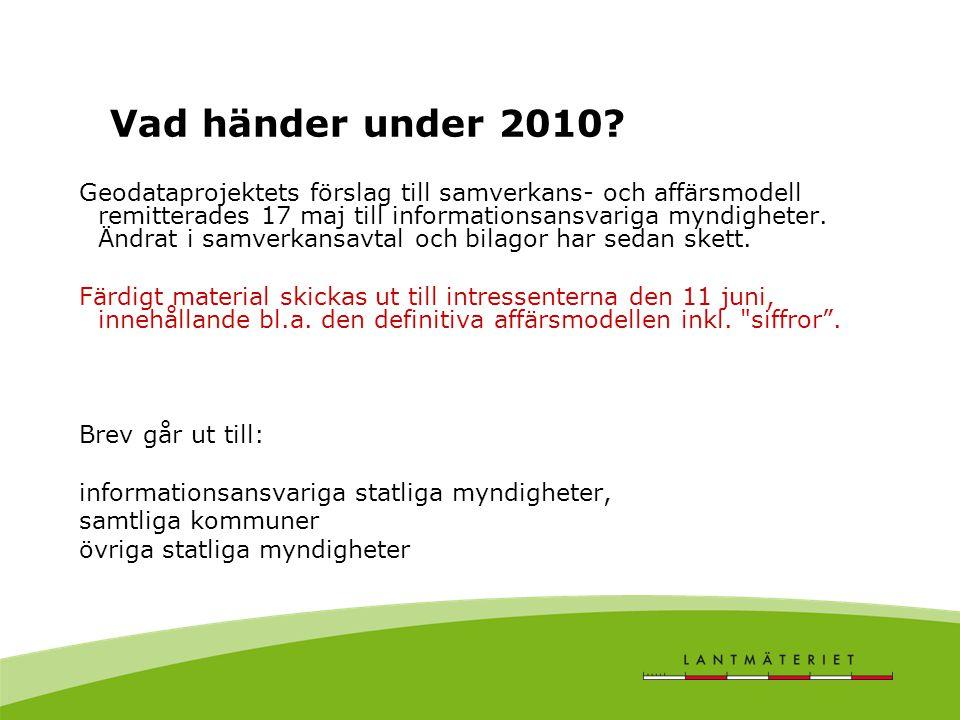 Vad händer under 2010.
