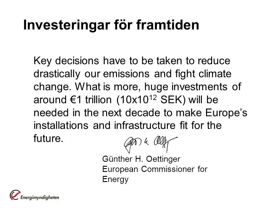Nordiska investeringar i miljöteknik