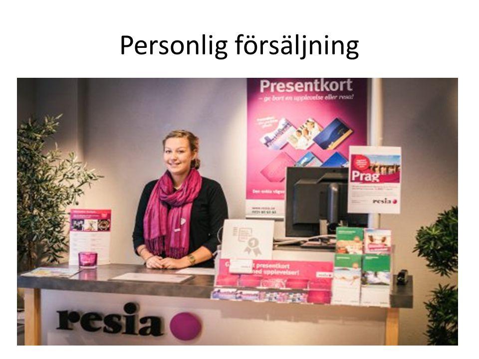 Personlig försäljning