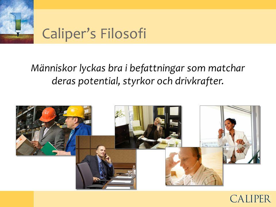 Olov Nordgren – över 10 års erfarenhet av Caliper Profilen – ansvarig Sverige •Min yrkeslivserfarenhet under åren 1979 till idag innefattar i huvudsak arbete med försäljning och företagsledning; •Management Konsult; QualitySales AB.