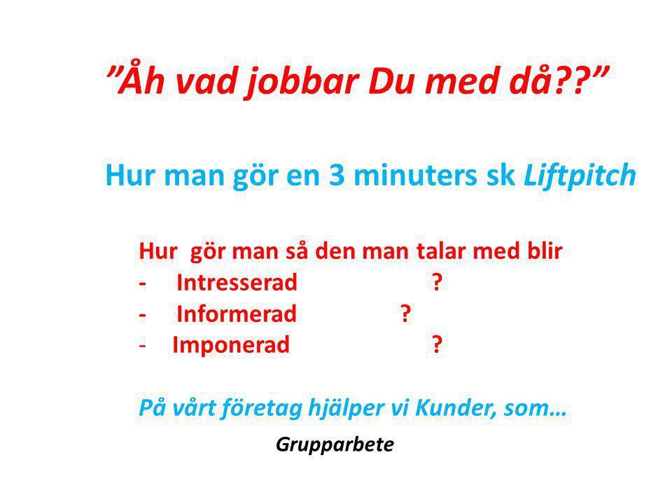 Marknadsföring 10/90 Fakta - om oss, behoven, konkurrensen Fundera - hur ser vår marknad ut.