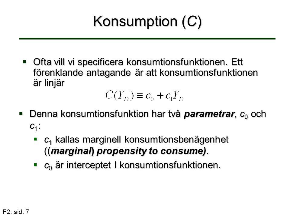 F2: sid.38 Svenska Riksbanken  Inflationsmål – 2%  1%.
