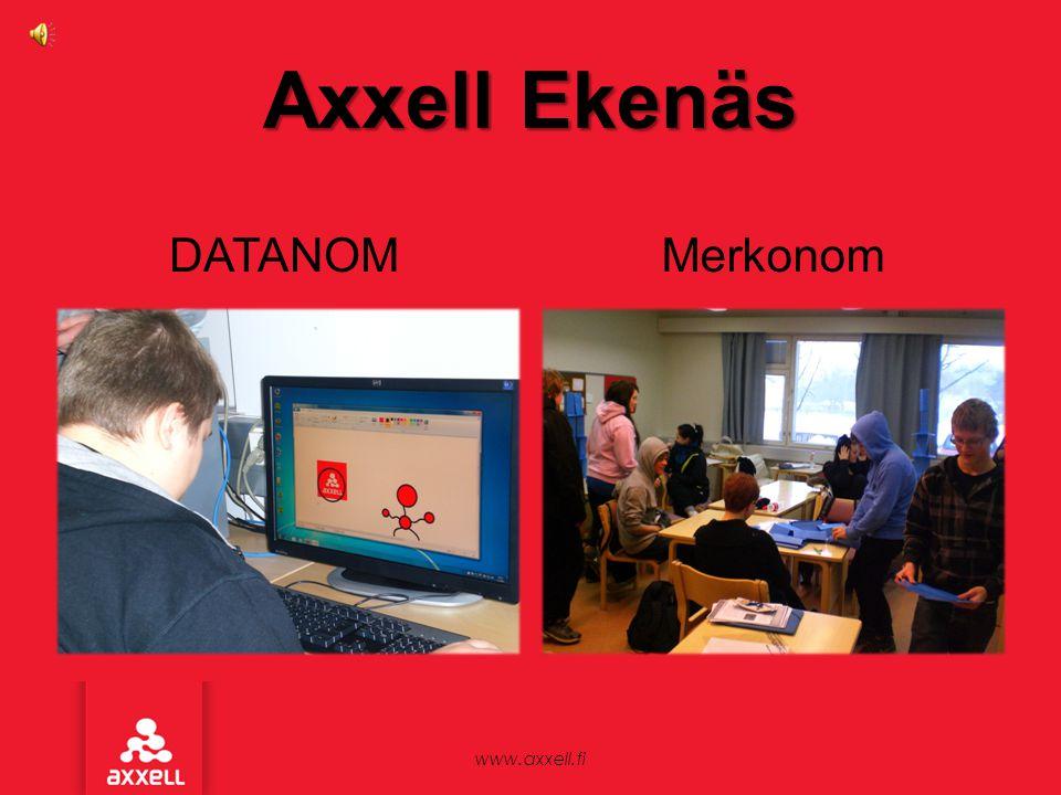 Axxell Ekenäs DATANOM Merkonom www.axxell.fi