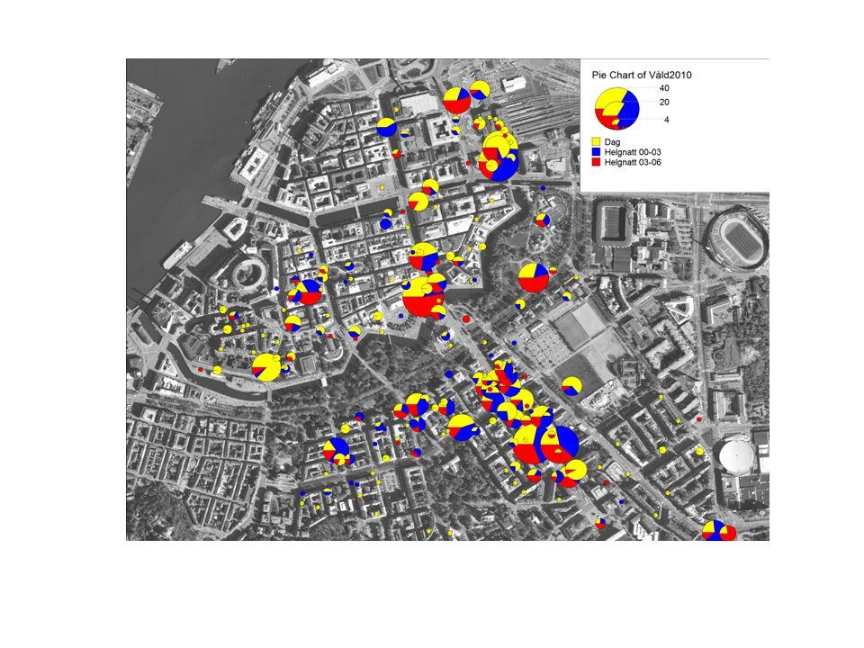 År 2010 Tidskatego ri KlockslagVardagHelgKvot Helg/Vardag Tid 100:00- 01.59 1281160,91 Tid 202:00- 03:59 351303,71 Tid 304:00- 05:59 181086,00 Tid 406:00- 20:59 7663730,49 Tid 521:00- 23:59 2031470,72 Ordningsstörande händelser Göteborgs spårvägar, 2000- 2010.