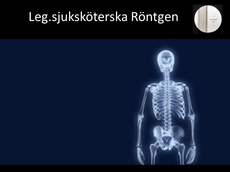 Leg.sjuksköterska Röntgen
