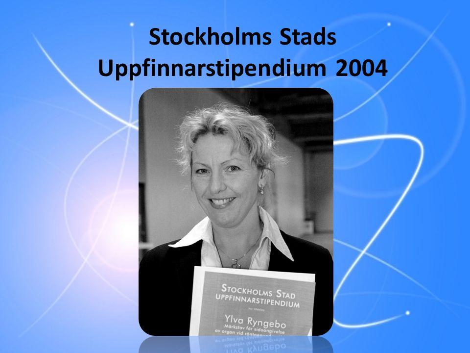 Stockholms Stads Uppfinnarstipendium 2004