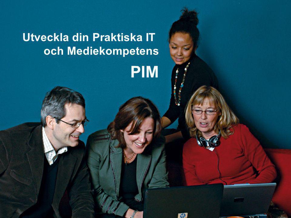 Framgångsfaktorer PIM i Jönköping Förarbete •Stöd hos den politiska ledningen •Anställd PIM-administratör •Styrgrupp med representation från alla nivåer samt organisation med tydligt ansvar för alla PIM-ärenden.