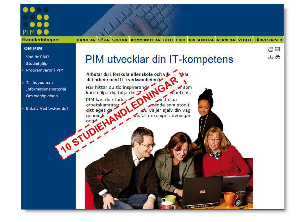 Fortsättningfas •Plan för hur man som kommun går vidare efter genomfört PIM-projekt.
