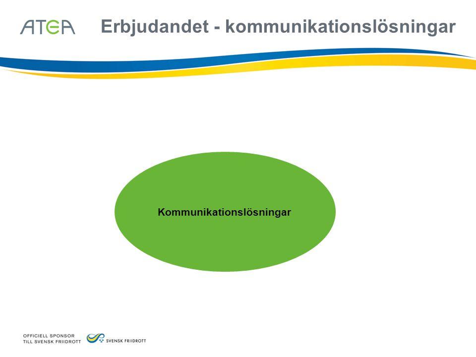 Kommunikationslösningar Erbjudandet - kommunikationslösningar