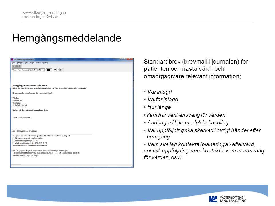 www.vll.se/memeologen memeologen@vll.se Epikris