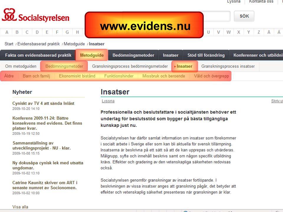 www.evidens.nu