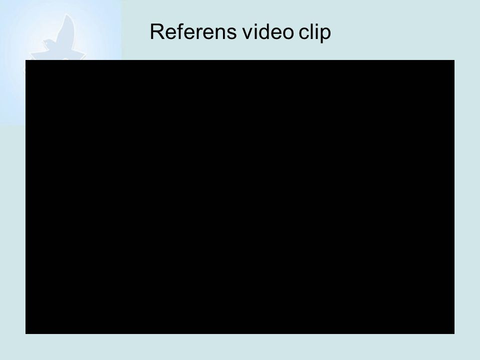 Referens video clip