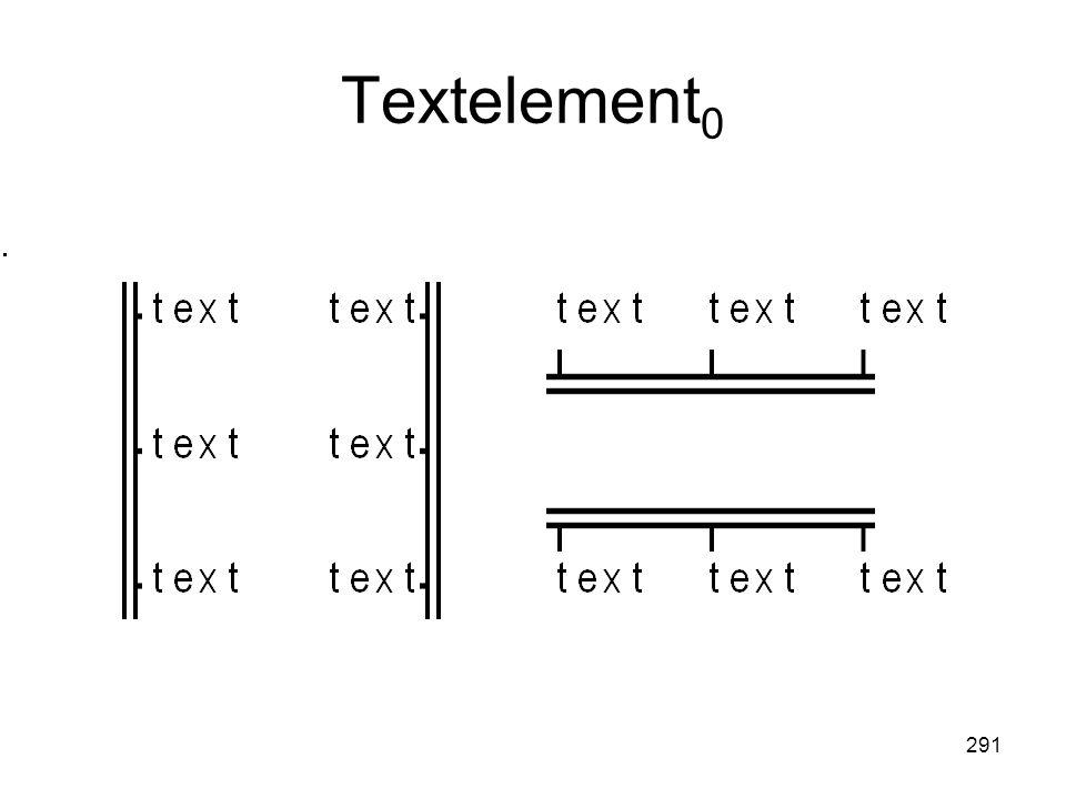 291 Textelement 0