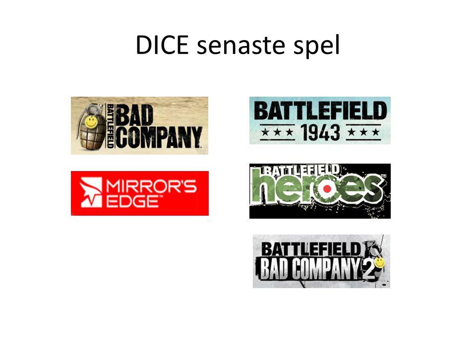 DICE senaste spel