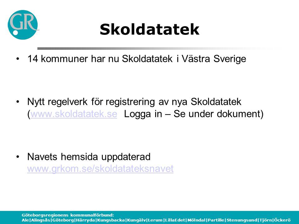 Göteborgsregionens kommunalförbund: Ale|Alingsås|Göteborg|Härryda|Kungsbacka|Kungälv|Lerum|LillaEdet|Mölndal|Partille|Stenungsund|Tjörn|Öckerö Utställningens nyheter 1 •Elevdatas nya Skolavtal och Talavtal •Frölunda Data – programvara och Mimio www.mimio.com http://www.frolundadata.se/index.cgi?cmd=Shop&cat =6&ucat=410&prod=303 www.mimio.com http://www.frolundadata.se/index.cgi?cmd=Shop&cat =6&ucat=410&prod=303 •Softogram – programvara •Smartboard www.smartboard.se Se avtal: www.skoldatatek.sewww.smartboard.sewww.skoldatatek.se