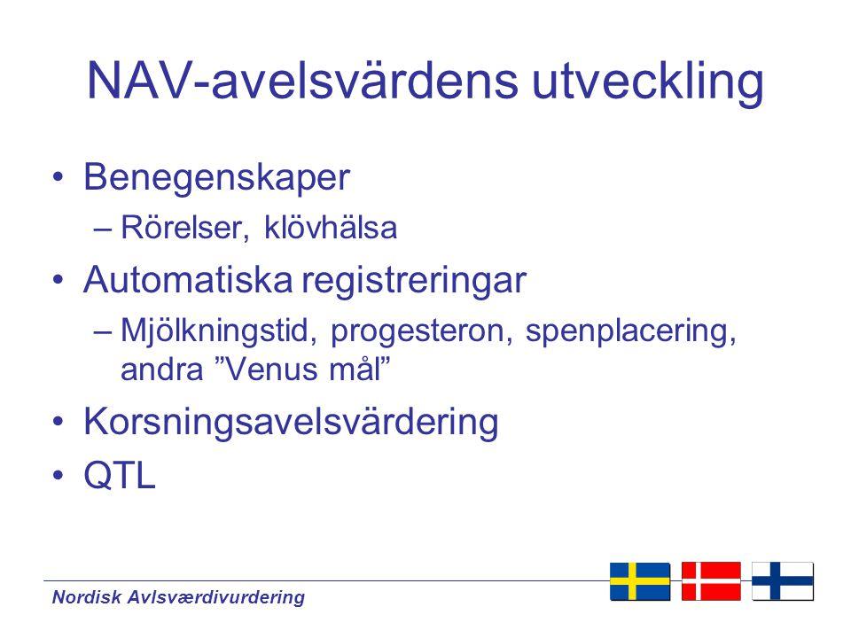 Nordisk Avlsværdivurdering Renrasiga köttboskap i NAV-länderna Struktur:  Många raser  Små besättningar  Små populationer  Få registreringar  Begränsat bruk av inseminering  Släktskap på tvärs över landsgränserna relativt få