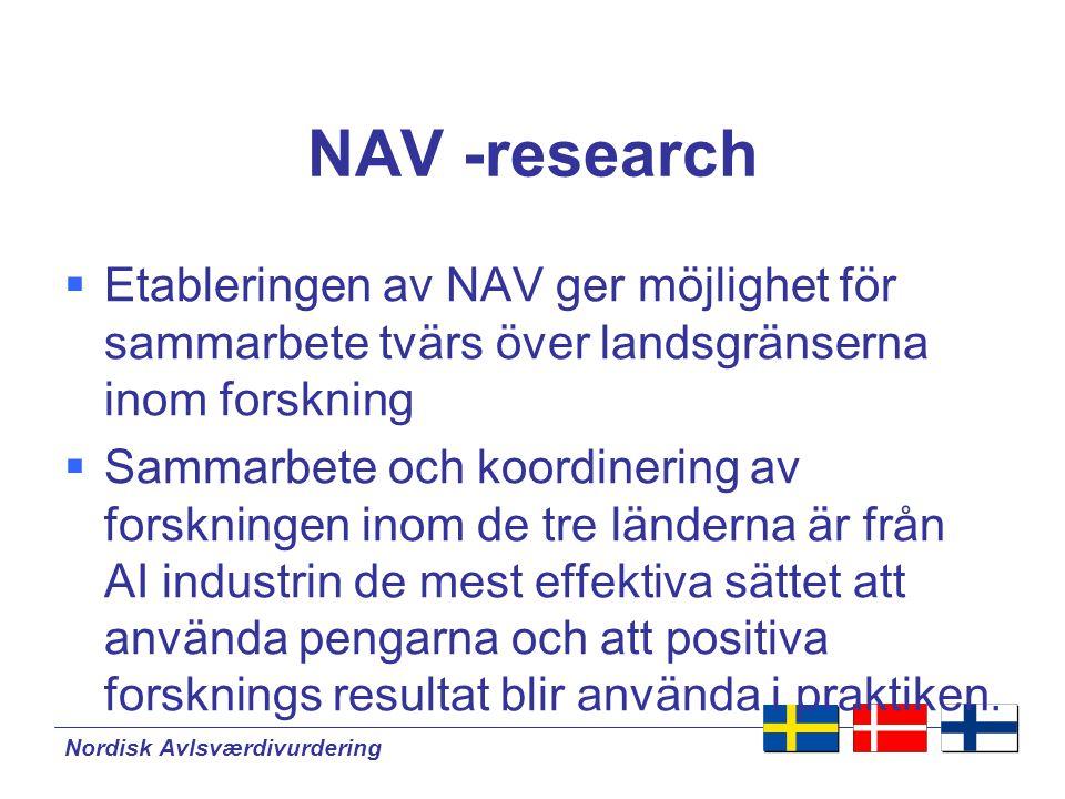 Nordisk Avlsværdivurdering Vad får lantbrukaren ut av NAV.