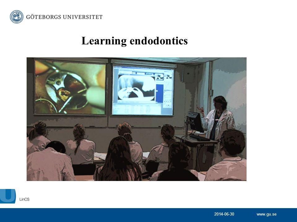 2014-06-30 Learning endodontics