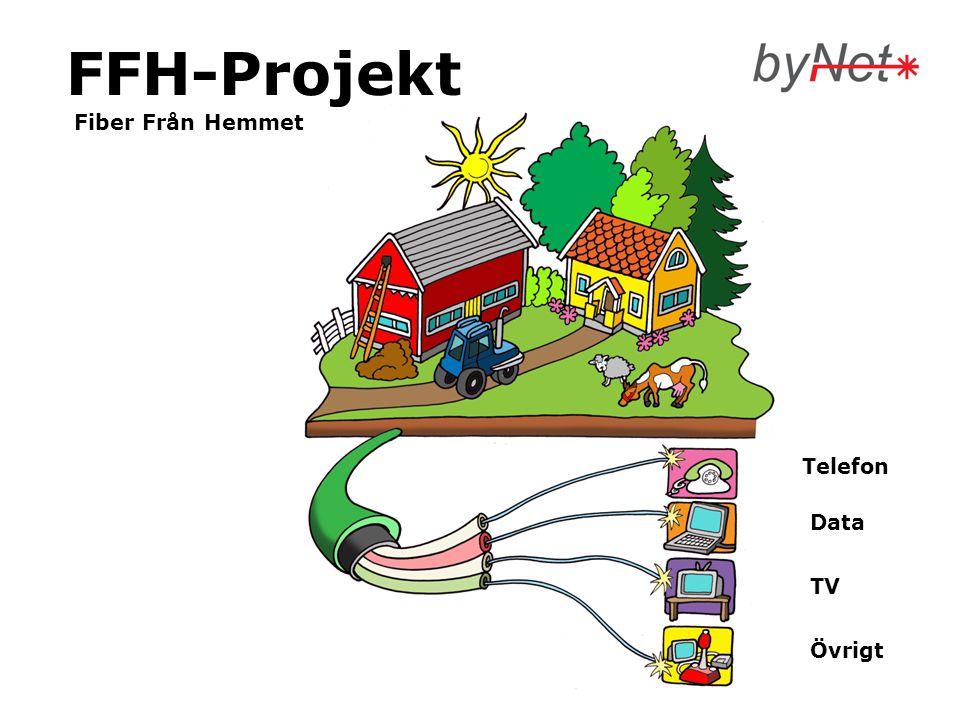 FFH-Projekt Fiber Från Hemmet Övrigt TV Data Telefon