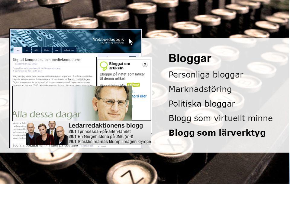 Senaste inlägg Arkiv Kategorier We don´t hate the media, we become the media webbpedagogik.wordpress.com/ hermods.wordpress.com/ Bloggar Personliga bl