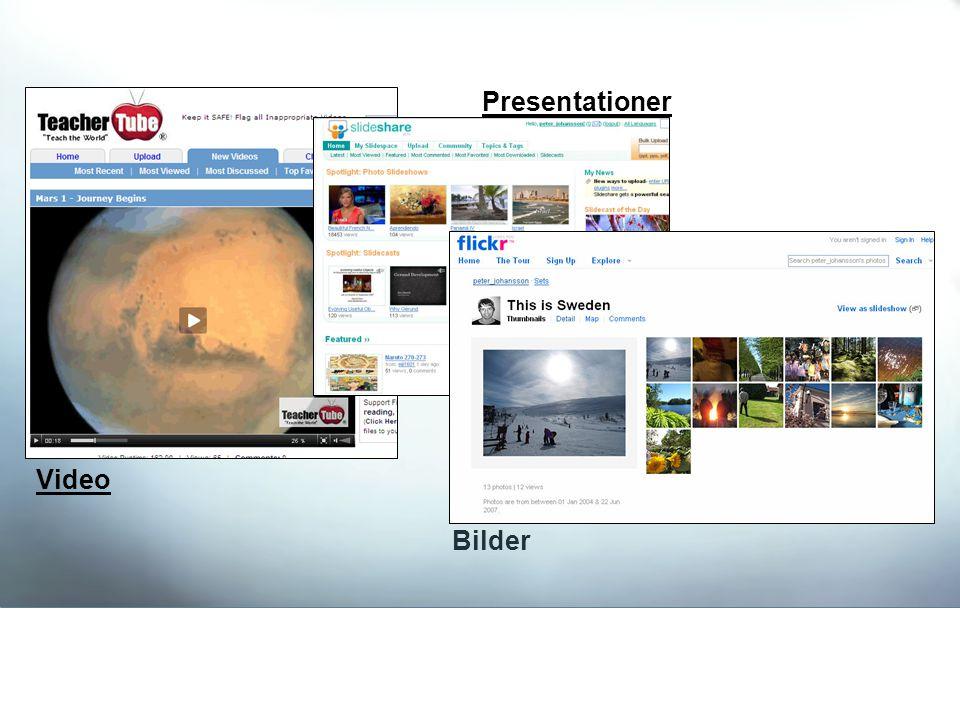 Video Presentationer Bilder