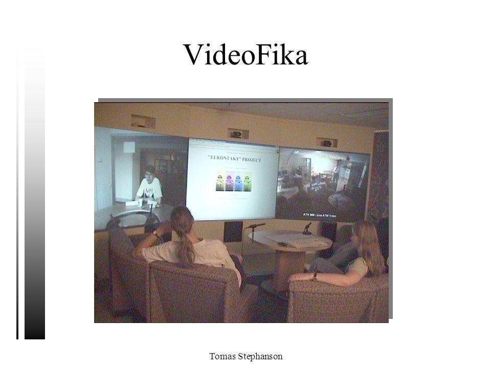 Tomas Stephanson VideoFika