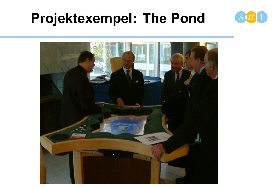 Projektexempel: The Pond