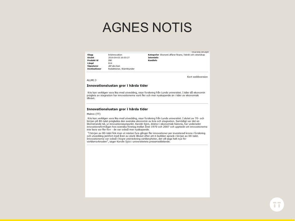 AGNES NOTIS