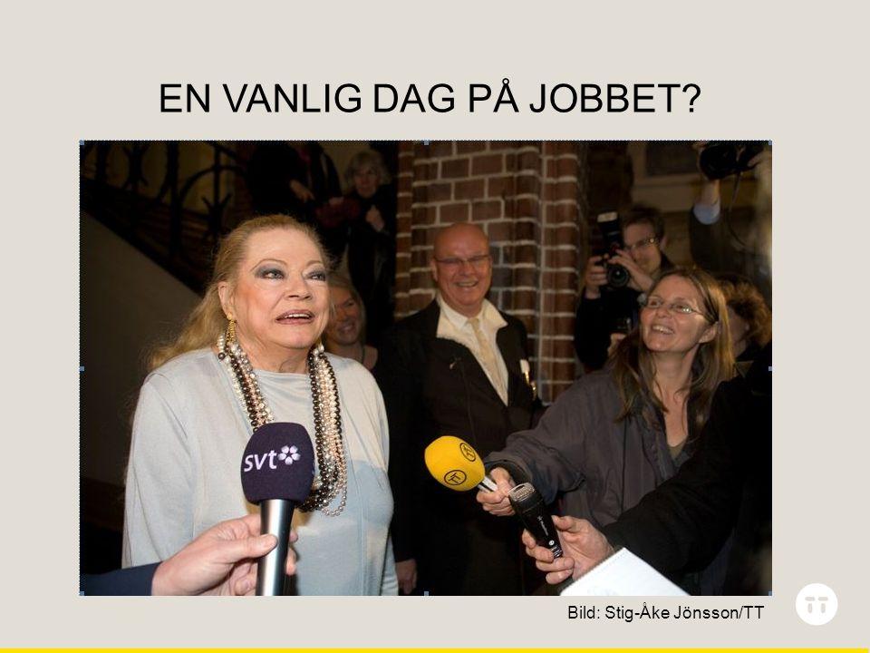 Ingen dag är den andra lik EN VANLIG DAG PÅ JOBBET? Bild: Stig-Åke Jönsson/TT