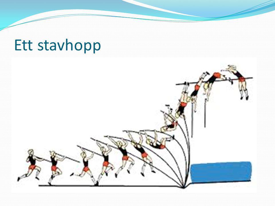 Har ni fått svar på följande. Vad är stavhopp.  Hur gör man när man hoppar stav.