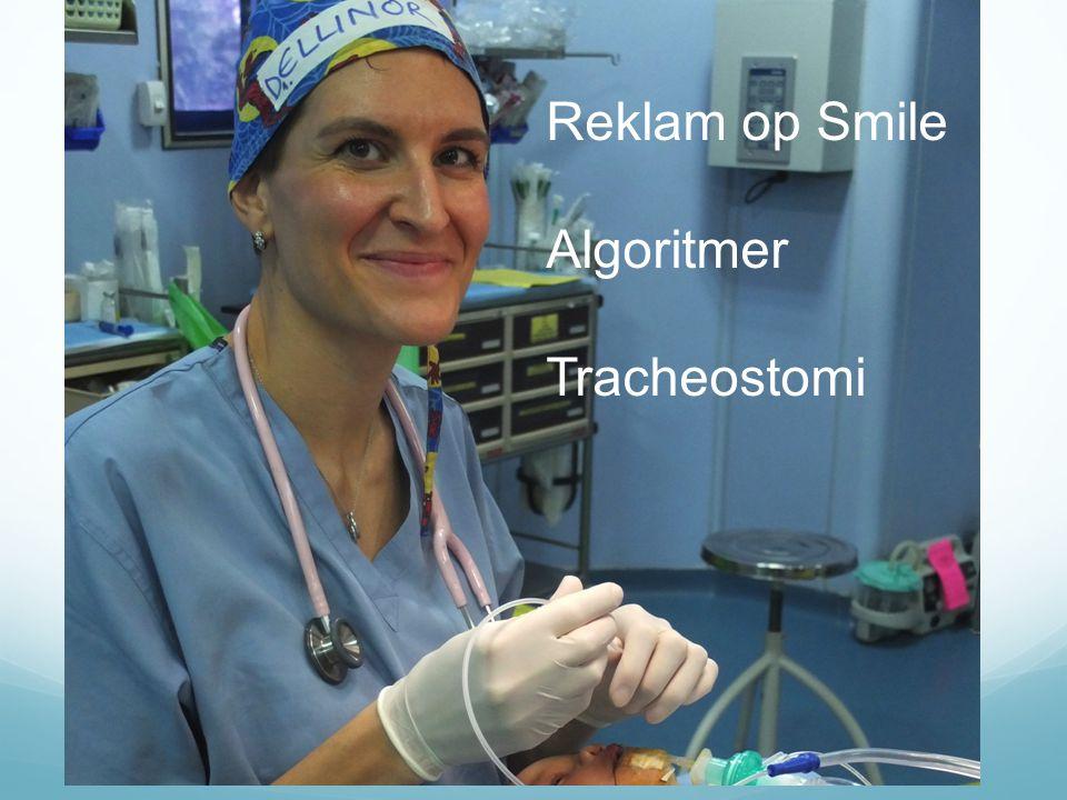 Reklam op Smile Algoritmer Tracheostomi