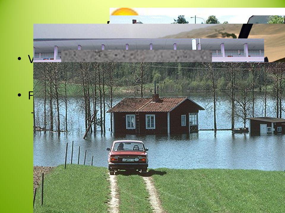 Framtiden • Växthuseffekten • FN:s klimatprognos – Varmare? • Torrare • Fuktigare