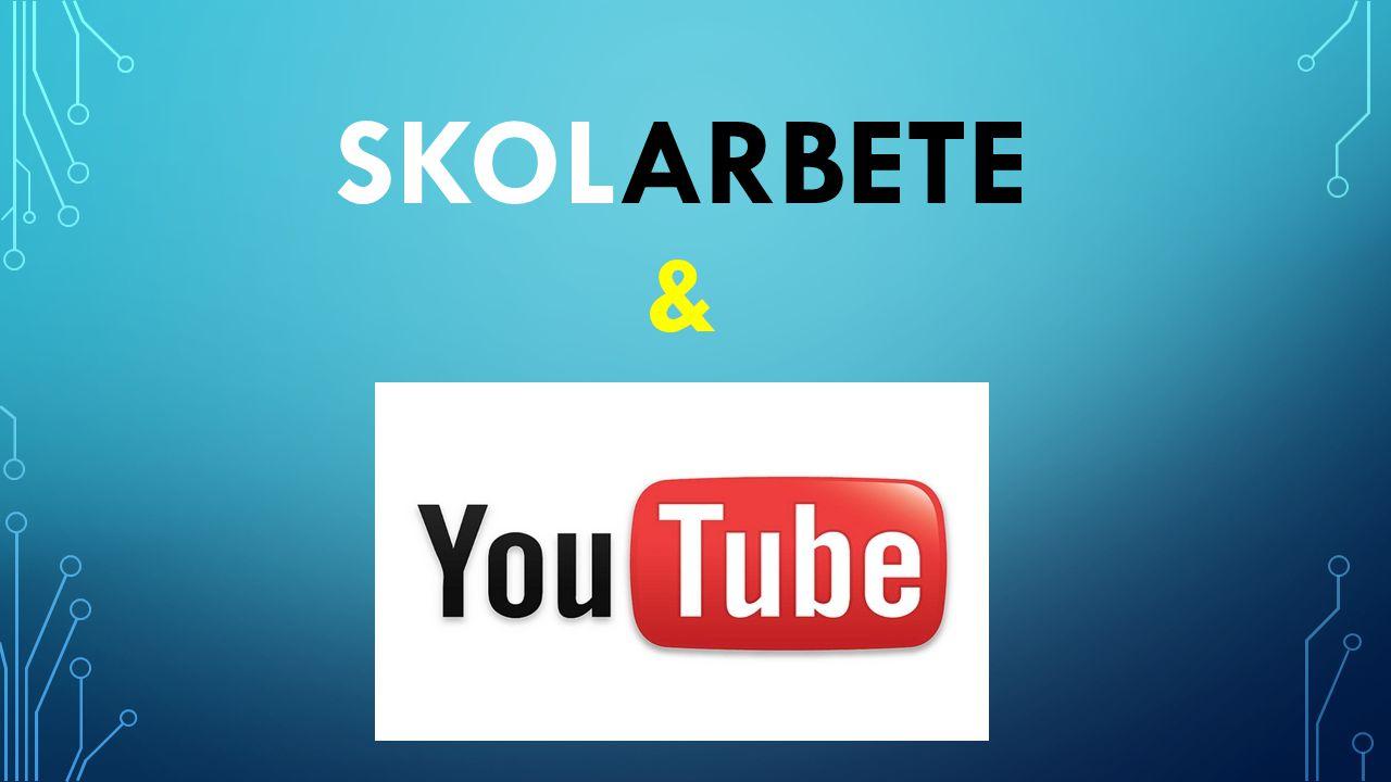 NÅGRA GLOBAL FAKTA OM YOUTUBE ANVÄNDAREN (HTTP://WWW.YOUTUBE.COM/YT/PRESS/STATISTICS.HTML) • Mer än 1 miljard unika användare besöker YouTube varje månad • Mer än 6 miljarder timmar video är bevakade varje månad på YouTube • 100 timmar video laddas upp på YouTube varje minut • 80% av YouTube trafiken kommer från utanför USA • YouTube är lokaliserad i 61 länder och över 61 språk • Mobile utgör nästan 40% av YouTubes globala klocka tid