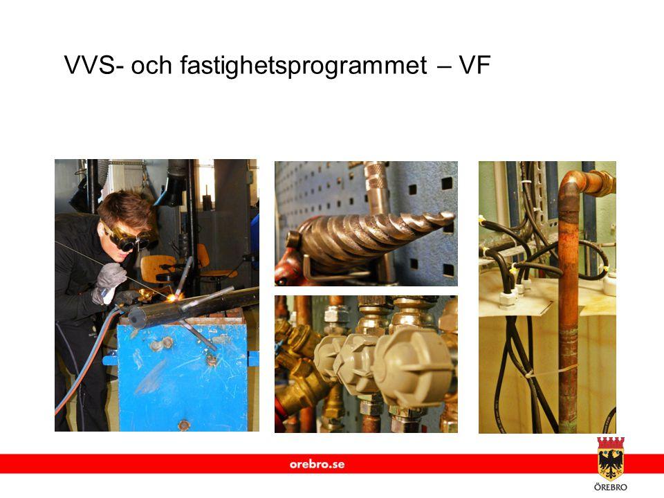 www.orebro.se VVS- och fastighetsprogrammet – VF