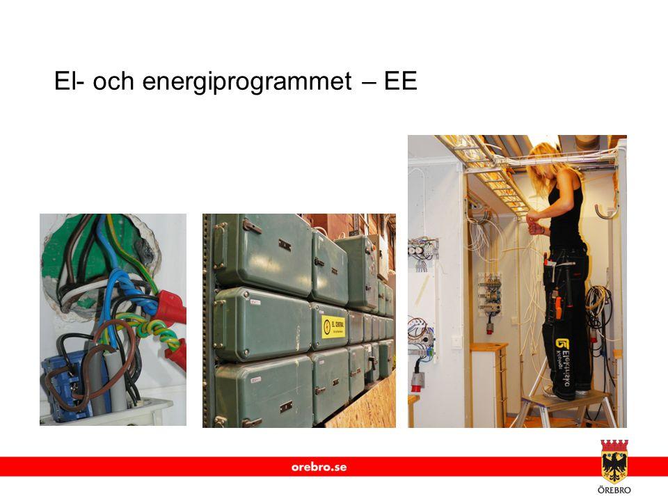 www.orebro.se El- och energiprogrammet – EE