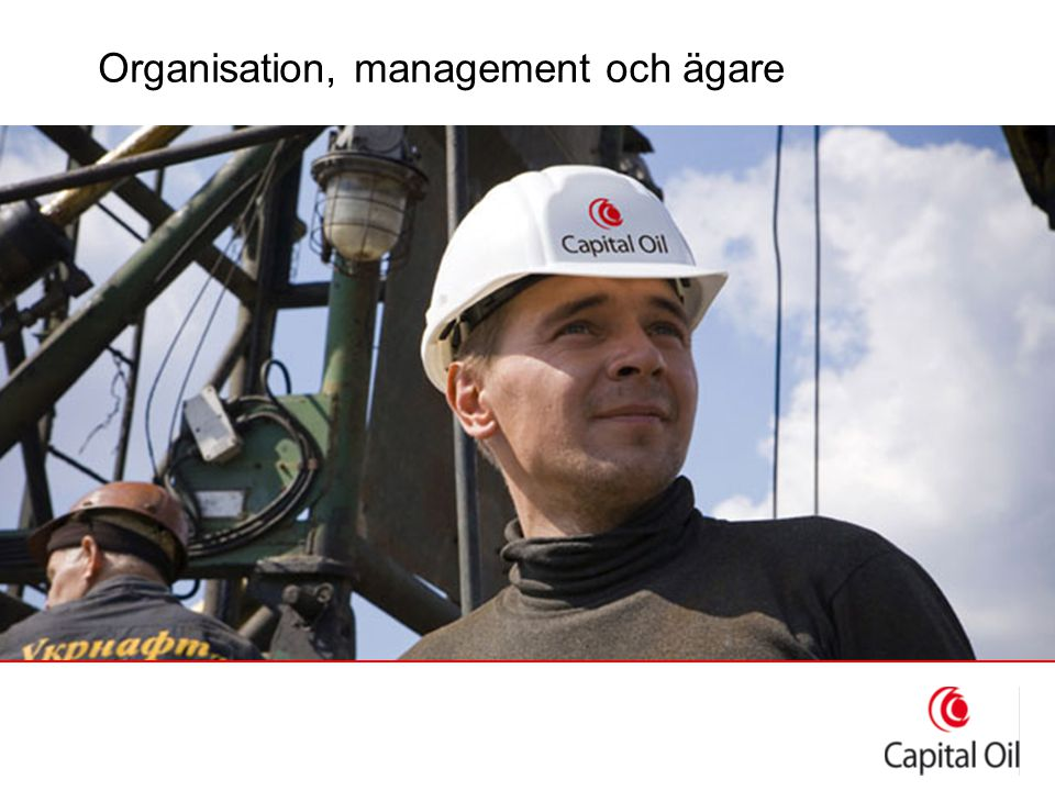Organisation, management och ägare