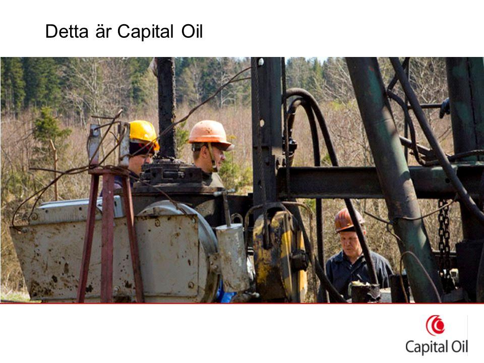 Organisation ●Svenskt moderbolag: Svenska Capital Oil AB ●Två helägda dotterbolag »LLC Capital Oil Ukraine »Capital Oil (UK) Ltd