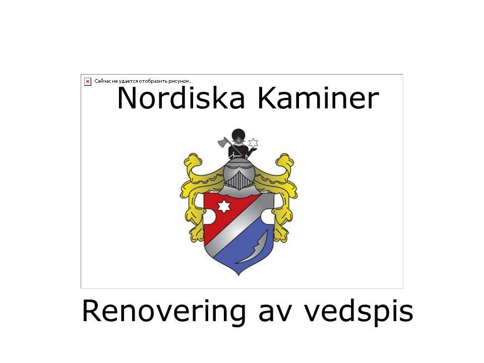 Nordiska Kaminer Renovering av vedspis